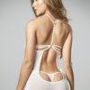 Babydoll blanco con panty hilo